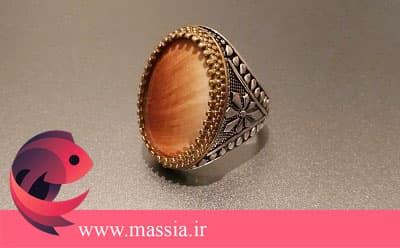 انواع انگشتر مردانه فاخر و بسیار شیک، با انواع سنگ های زیبا و با کیفیت و در طرح های متنوع صدفی در ماسیا