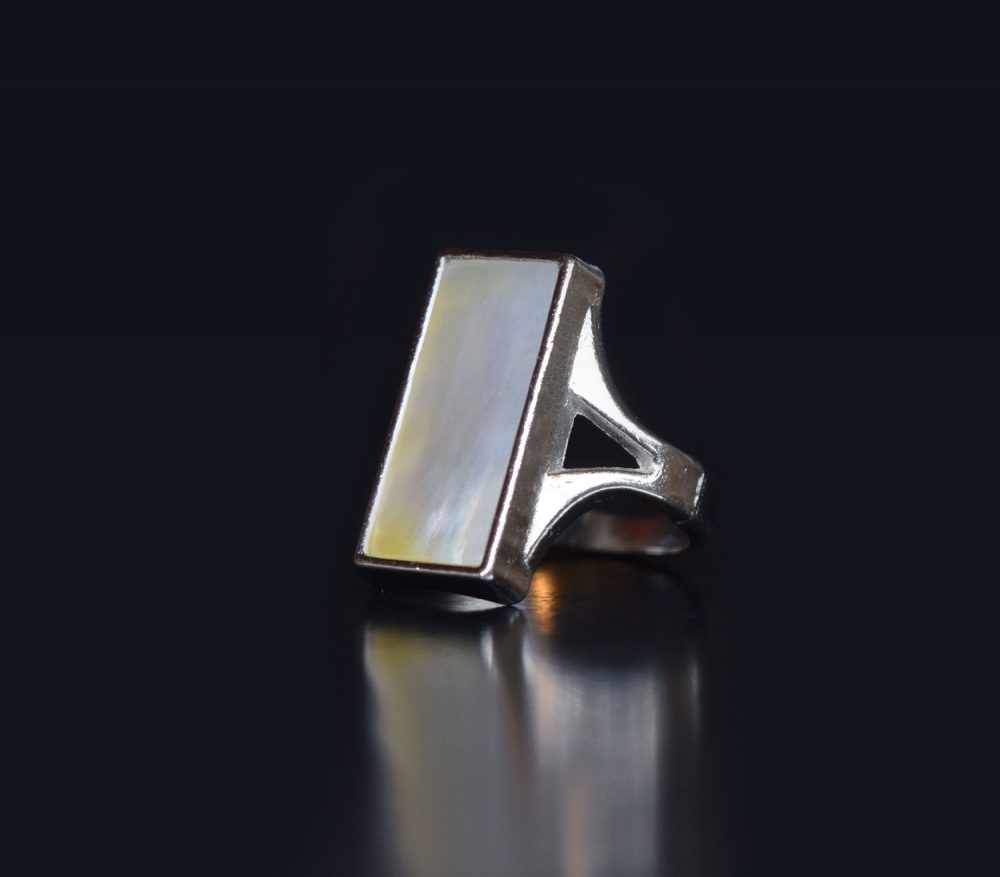 انگشتر صدفی بافین