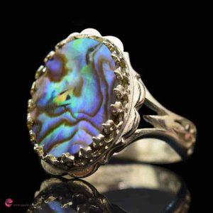 انگشتر صدفی پراسلین