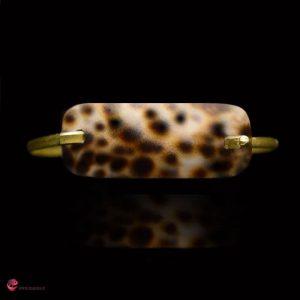 دستبند صدف زنانه مدل سالینا جواهری ماسیا