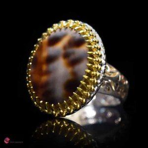 انگشتر مردانه صدف سولو