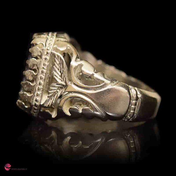 خرید انگشتر نقره مردانه شیک