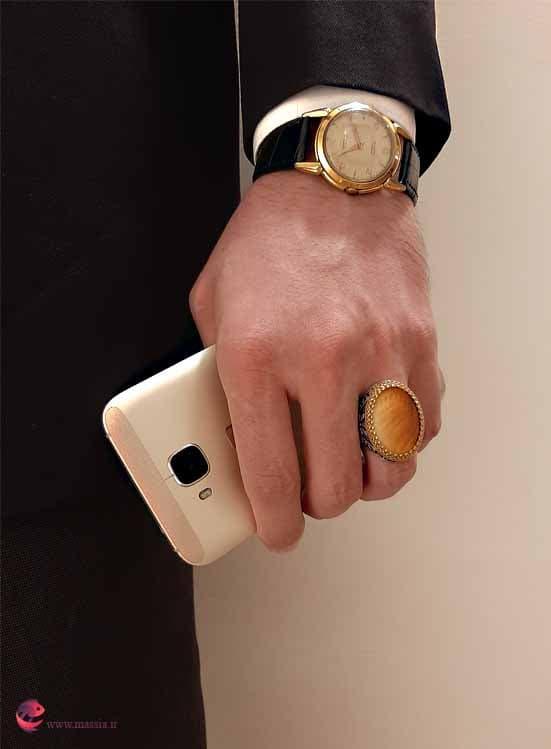 انگشتر صدف مردانه هدیه