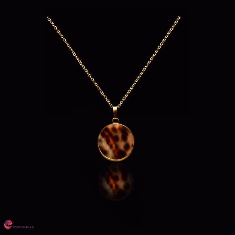 گردنبند صدفی خاص و شیک مدل لوسیا جواهری ماسیا