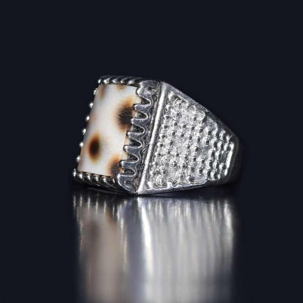 انگشتر نقره صدفی انگشتر صدفی زیورآلات صدفی بدلیجات صدفی