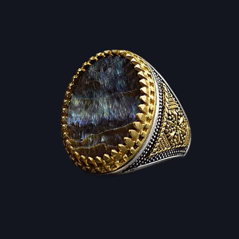 انگشتر صدفی آیولین