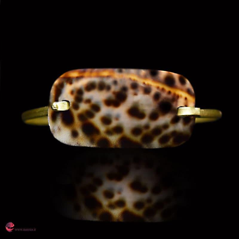 دستبند صدف پلنگی مایورکا زیورآلات ماسیا